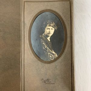 Other - Antique Edwardian/Flapper 20s Trifold Photograph